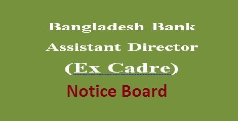 Bangladesh Bank Assistant Director (Ex Cadre) Exam Result