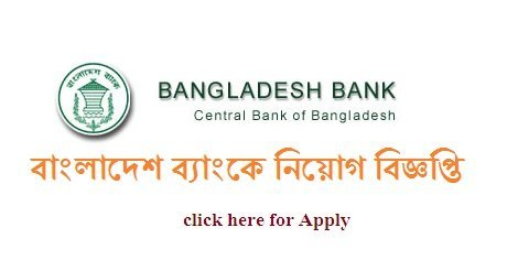Bangladesh Bank Recruitment 2016