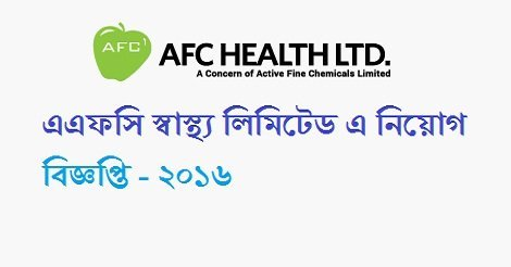 AFC Health Ltd job circular