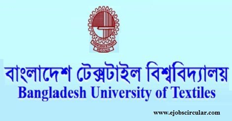 Bangladesh University of Textiles Job Circular 2016