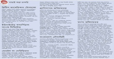 Top 7 Job circular in December 2016 – Collect By ejugantor