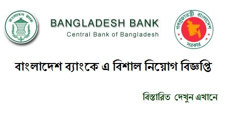Bangladesh Bank Job Circular January
