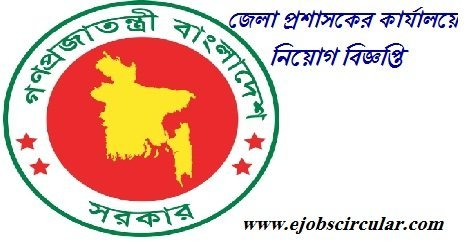 Deputy Commissioner job Circular