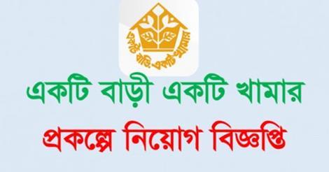 Ektee Bari Ektee Khamar Project & Palli Sanchoy Bank Recruitment 2017