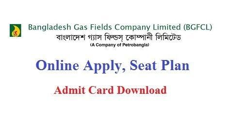 Bangladesh Gas Fields Company BGFCL Admit Card – www.bgdcl.teletalk.com.bd