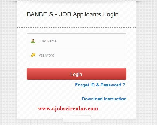 banbeis admit card