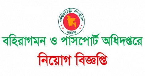 Passports Office Job Circular
