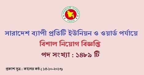 Health Center Job circular