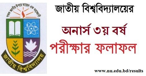 National University Honours 3rd Year Result 2017 – NU.EDU.BD