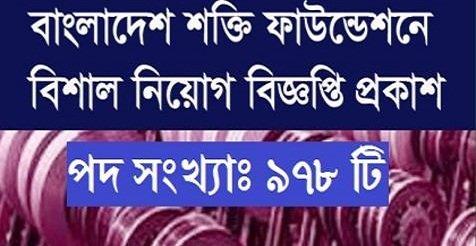 Shakti foundation Vacancy