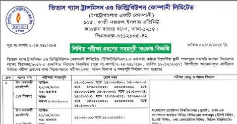 TGTDCL Admit Card & Written Exam Result – tgtdcl.teletalk.com.bd