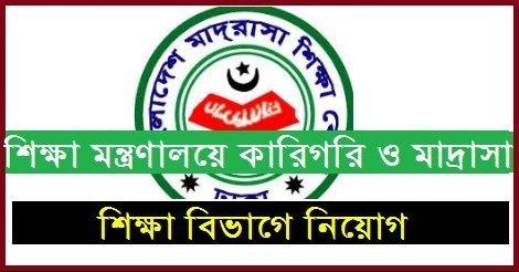 Technical and Madrasah Education Division TMED Job Circular – www.tmed.gov.bd