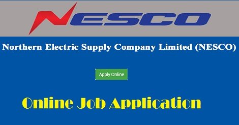 NESCO jobs application