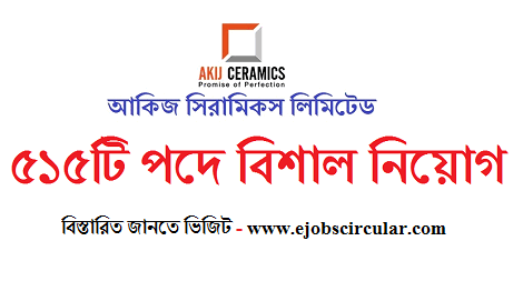 Akij Ceramics Ltd Job Circular 2019