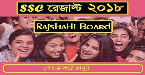 Rajshahi Board SSC Result 2018
