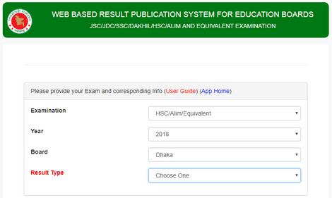 HSC Result 2018 Published Today – educationboardresults.gov.bd