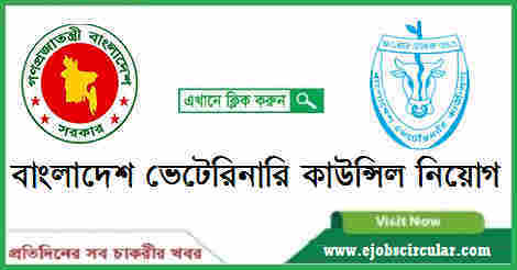Bangladesh Veterinary Council (BVC) Job Circular – www.bvc.gov.bd
