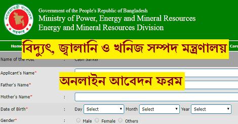 Energy and Mineral Resources Division EMRD job circular – www.emrd.teletalk.com.bd