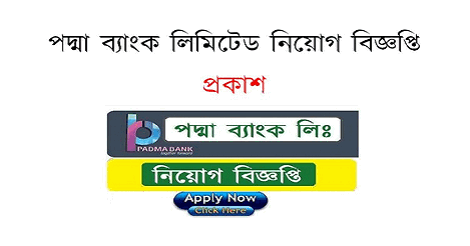 Padma Bank Limited Job Circular 2019