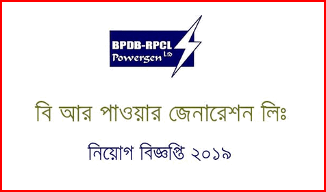 BR Powergen Ltd Job circular