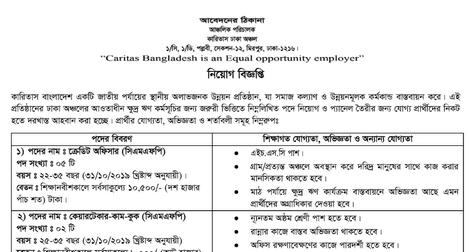 Caritas Jobs
