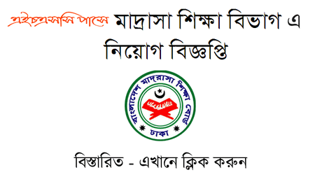 Directorate of Madrasha Education Job Circular