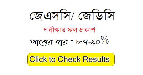 JSC Result Marksheet Downlaod 2019