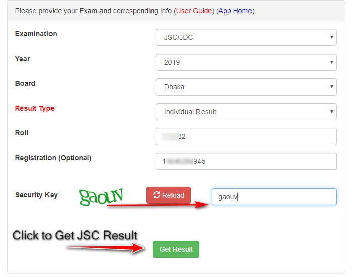 web based jsc result eboardresults.com