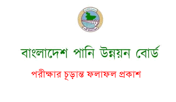 BWDB Job Final Exam result 2020