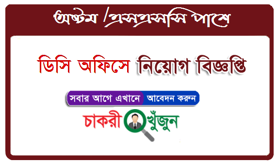 District Commissioner Job Circular 2020