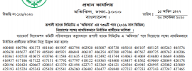 Rupali Bank Limited Job officer final result