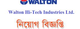 Walton hi-Tech Industries Limited Job