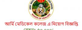 Army Medical College Job Circular 2021